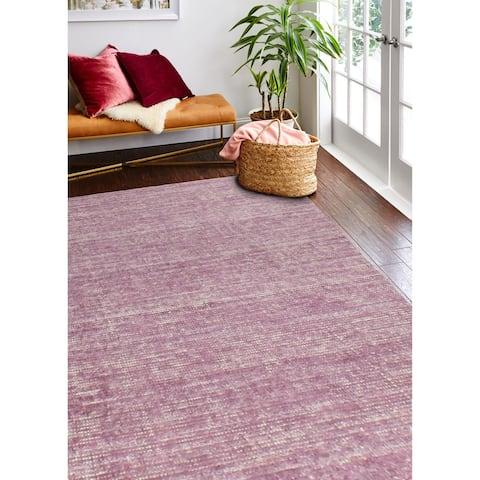 Fort Fuchsia Hand Loomed Transitional Area