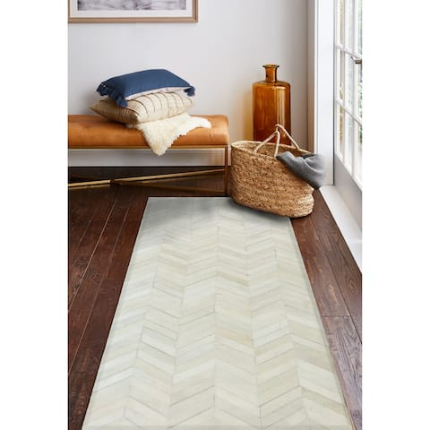 Langdon Contemporary Hand Stitched Area Rug