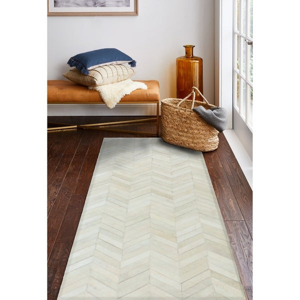 Langdon Contemporary Hand Stitched Area Rug. Opens flyout.