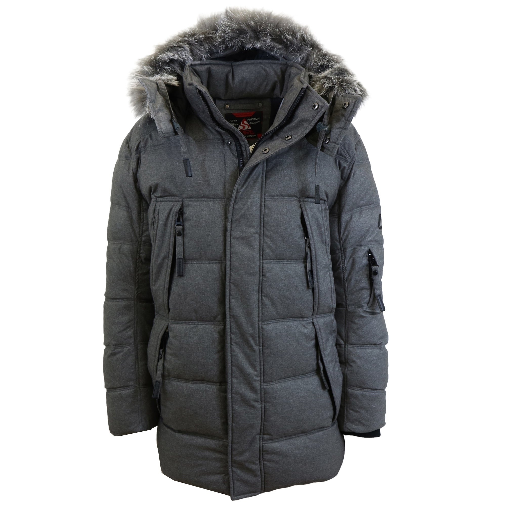 Fur Parka Jacket Mens