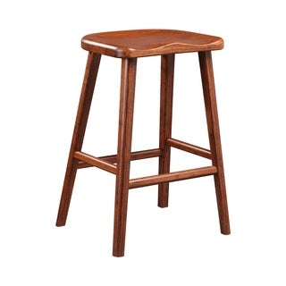 Greenington G0024CSE Salix Exotic 26-inch Counter Height 2-piece Stool Set