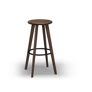 "Greenington G0064CSBL Mimosa Black Walnut 26"" Counter Height Stool (Set of 2)"