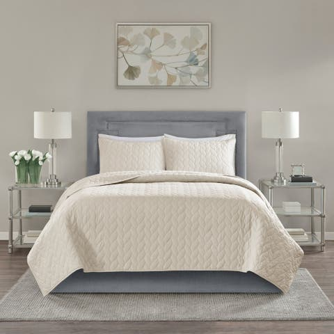 Madison Park Addie Reversible Coverlet Set
