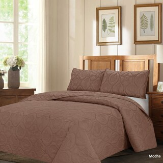 French Impression Mystic Shores Oversized 3-piece Quilted Bedspread Set (More options available)
