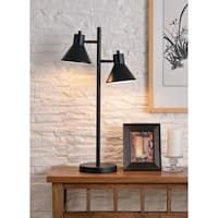 "Poplar 29.87"" Black Desk Lamp"