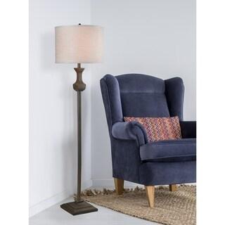 "Thal 61.5"" Driftwood Floor Lamp"