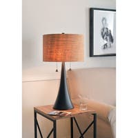 "Bachman 29.75"" Oil Rubbed Bronze Table Lamp"