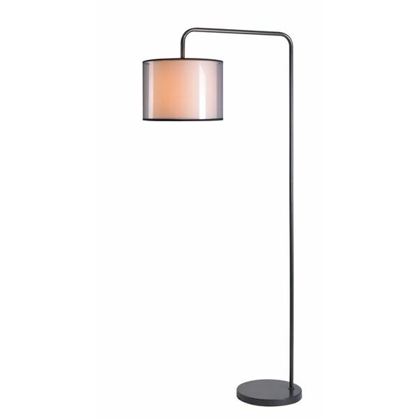 Luca 69-inch Graphite Arc Lamp