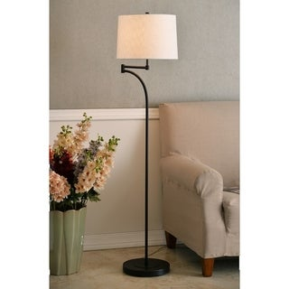 "Design Craft Siete 59.11"" Oil Rubbed Bronze Floor Lamp"
