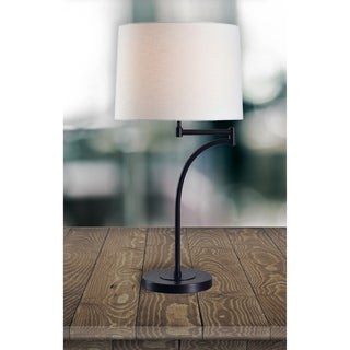 "Design Craft Siete 29.5"" Oil Rubbed Bronze Table Lamp"
