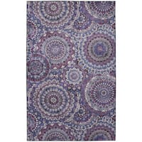 Copper Grove Dehiwala Florence Medallion Area Rug - 8' x 10'