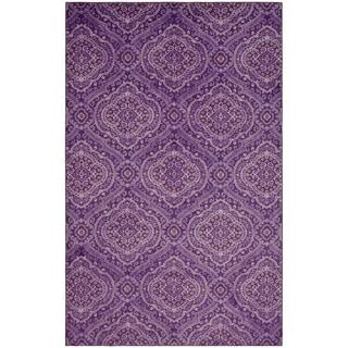 Mohawk Prismatic Cloverdale Purple Area Rug (5'x8')