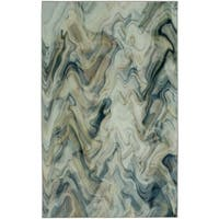 Mohawk Home Prismatic Wavelength Modern Abstract Area Rug (5' x 8') - 5' x  8'