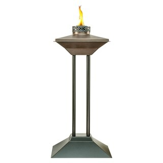 TIKI® Brand 28-inch Cordoba Metal Patio Torch Bronze