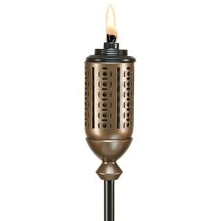 TIKI® Brand 65-inch Cabos Metal Torch Copper