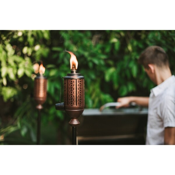 Copper TIKI/® Brand 65-Inch Cabos Metal Torch