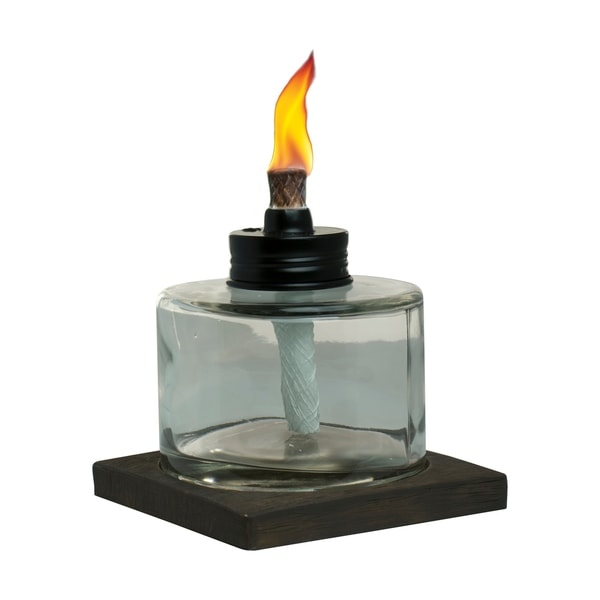 Shop Tiki 174 Brand 4 Inch Votive Glass Table Torch Brown And