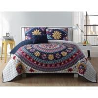 VCNY Home Ahimsa 4-piece Quilt Set