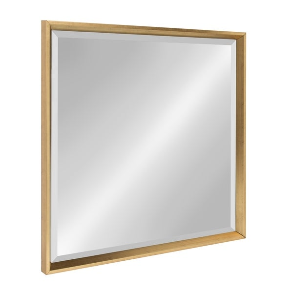 Kate And Laurel Calter Framed Square Mirror