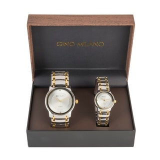 Gino Milano his & Her Watch Gift Sets