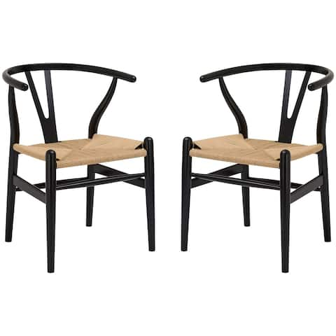 Poly and Bark Weave Chair (Set of 2)