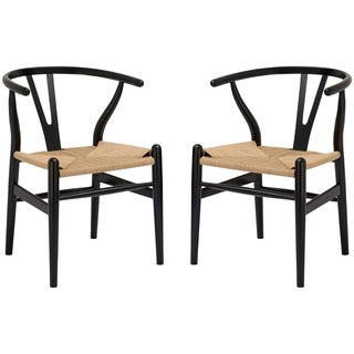 Link to Poly and Bark Weave Chair (Set of 2) Similar Items in Dining Room & Bar Furniture