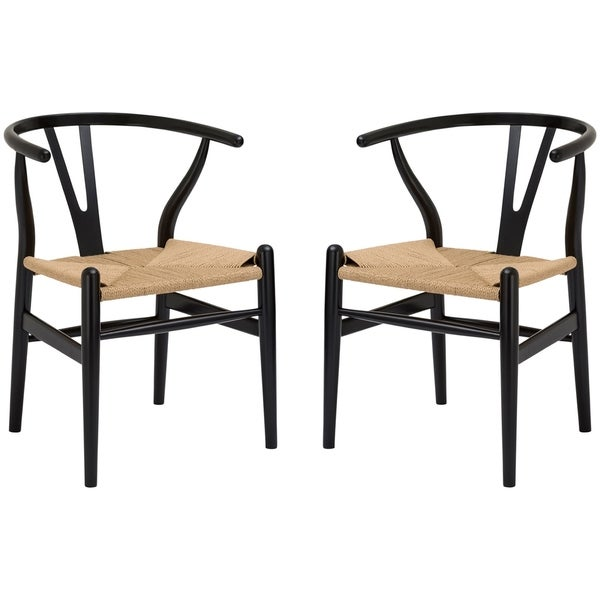 Shop Poly and Bark Weave Chair (Set of 2) - On Sale ...