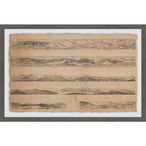 Marmont Hill - Handmade Panoramic Views Framed Print