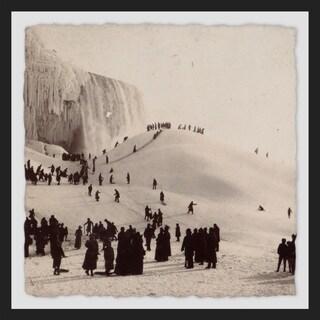 'Niagara Falls II' Framed Painting Print