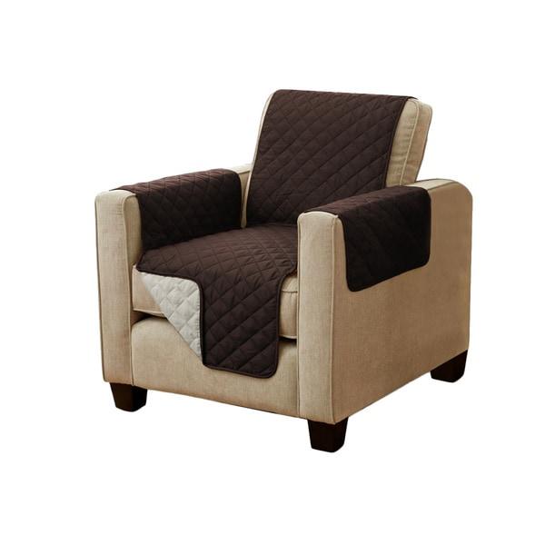 H.Versailtex Microsuede Recliner Chair Slipcover