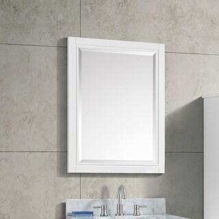 "Avanity Layla 24 in. Wall Mirror - White - 24""W x 32""H"