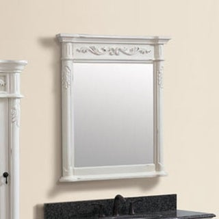 Avanity Provence 30 in. Mirror in Antique White finish - Antique White