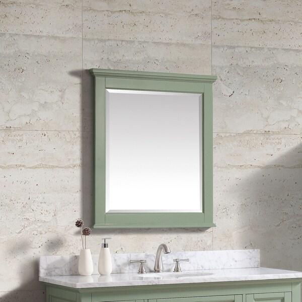 "Avanity Colton 28 in. Wall Mirror - Basil Green - Basil Green - 28""W x 32""H"
