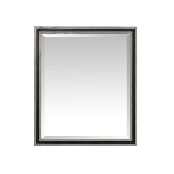 Avanity Dexter 30 in. Mirror in Rustic Gray