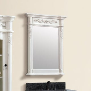 Avanity Provence 24 in. Mirror in Antique White finish - Antique White
