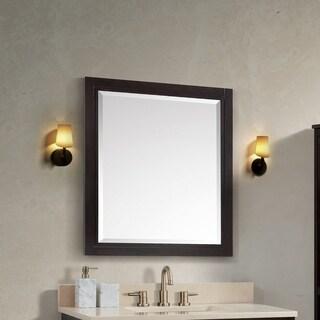 Avanity Hepburn 24-inch Mirror in Dark Chocolate - N/A