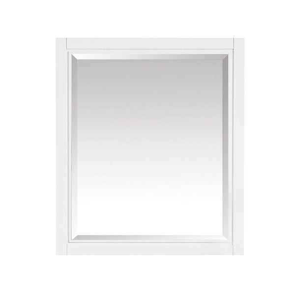 "Avanity Layla 28 in. Wall Mirror - White - 28""W x 32""H"