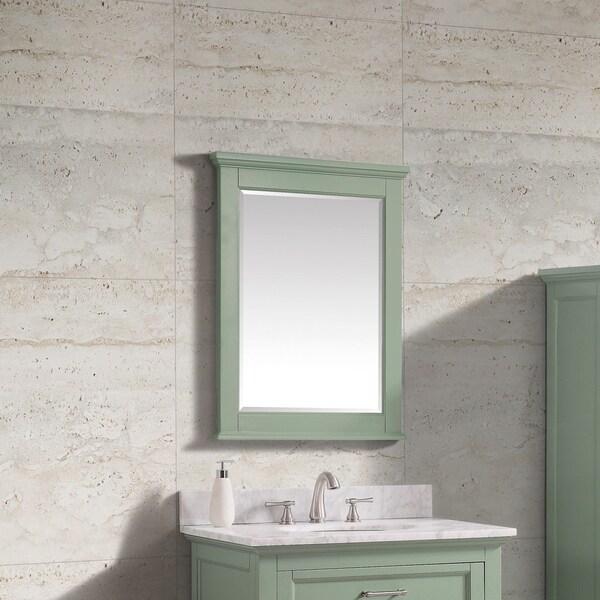 "Avanity Colton 24 in. Wall Mirror - Basil Green - Basil Green - 24""W x 32""H"