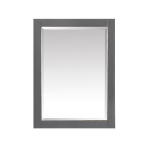 """Avanity 22 in. Mirror Cabinet for Allie / Austen in Twilight Gray with Matte Gold or Brushed Silver Trim - 22""""W x 28""""H"""