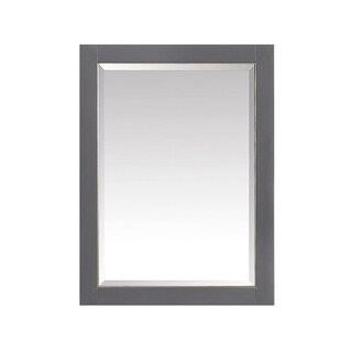 Avanity 22 in. Mirror Cabinet for Allie / Austen in Twilight Gray with Matte Gold or Brushed Silver Trim (2 options available)