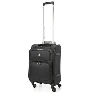 "Aerolite 22x14x9"" Carry On MAX Upright Trolley Bags Luggage Suitcase, Maximum Allowance Approved for Delta, American Airlines!"