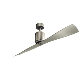 Kichler Lighting Ferron Collection 60-inch Brushed Nickel Ceiling Fan