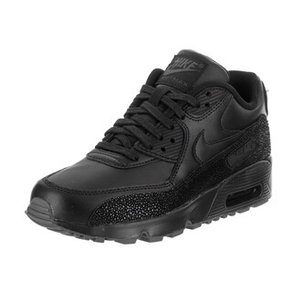 Nike Kids Air Max 90 SE Leather (GS) Running Shoe