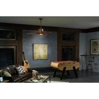Kichler Lighting Phree Collection 56-inch Walnut LED Ceiling Fan