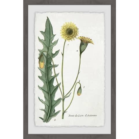 Marmont Hill - Handmade Dandelion Framed Print
