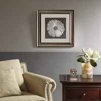 Harbor House Bloom Brown Decorative Embroidery Wall Art Flower