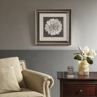 Harbor House Blossom Brown Decorative Embroidery Wall Art Flower