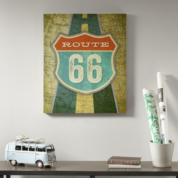 Mi Zone Route 66 Multi Gel Coat Canvas