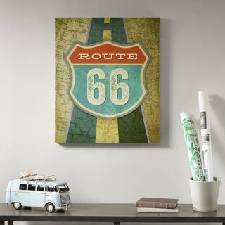 Mi Zone Route 66 Multi Gel Coat Canvas