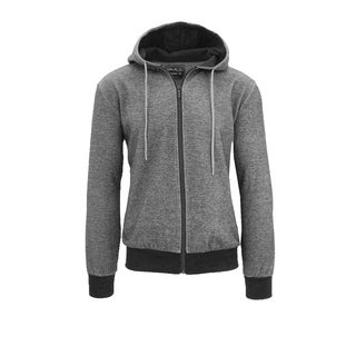 Galaxy By Harvic Men's Tech Fleece Zip-Up Hoodie Sweatshirts